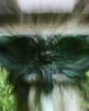 engel in gruen