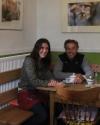 Margot Asam und Gerhard Fischer im Cafe Hey Schaffner